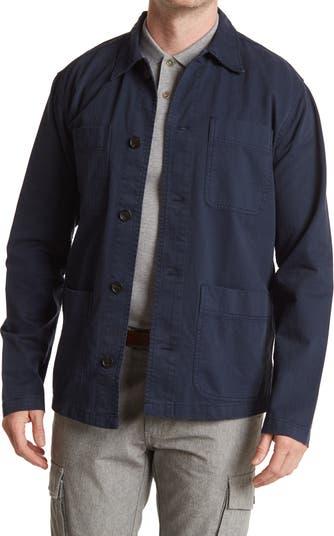 Куртка-рубашка с накладными карманами Selected Homme