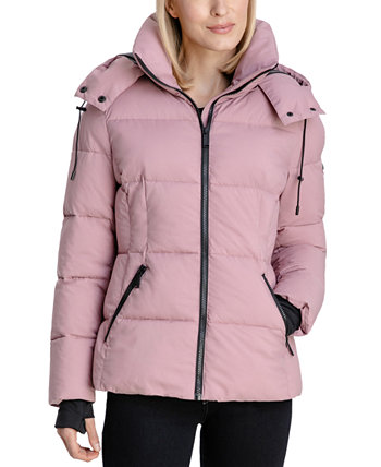 Stretch Hooded Puffer Coat BCBGeneration