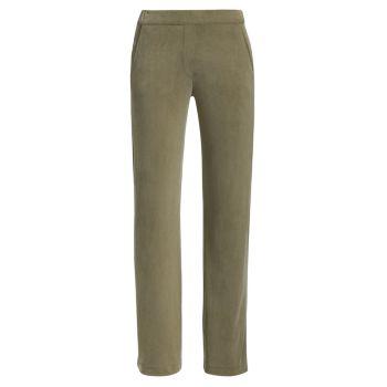 Прямые эластичные брюки Majestic Filatures