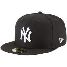 Men's New Era Black New York Yankees Basic 59FIFTY Fitted Hat New Era