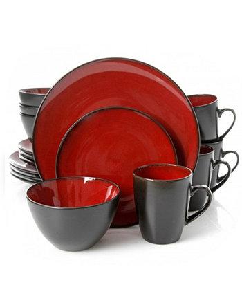 Круглый набор посуды из 16 предметов Soho Lounge Gibson