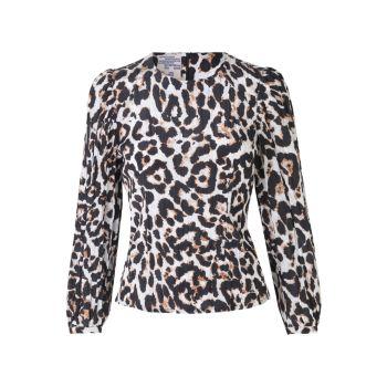 Блуза Mylee с леопардовым принтом BAUM UND PFERDGARTEN