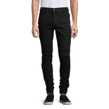 Ethan Biker Skinny Jeans Hudson