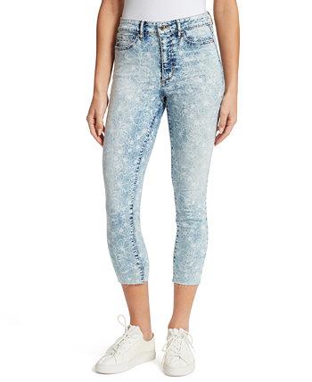 Укороченные джинсы скинни с очень высокой посадкой Ella Moss
