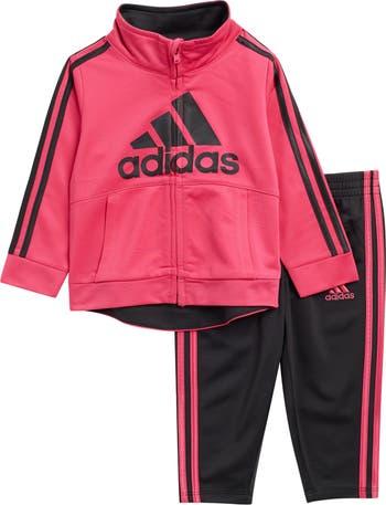 Badge of Sport Zip Track Jacket & Joggers Set Adidas
