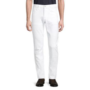 Узкие прямые джинсы Blake Hudson