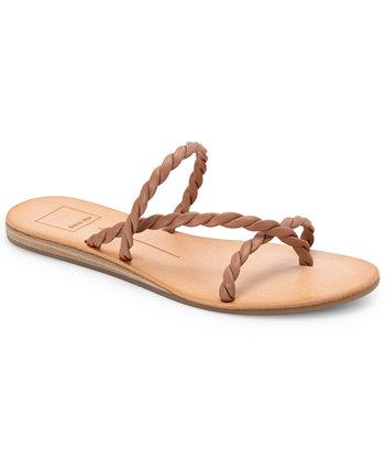 Dexla Braided Flat Sandals Dolce Vita