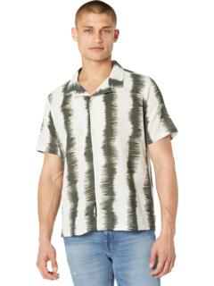 Рубашка с коротким рукавом в крашенную полоску NATIVE YOUTH
