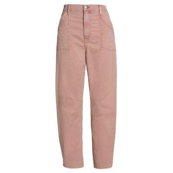 Укороченные брюки Charlie Barrel-Fit VERONICA BEARD