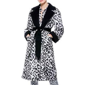 Двустороннее пальто Tomiko с запахом Alice + Olivia