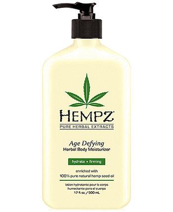 Антивозрастной увлажняющий крем для тела на травах, 17 унций, от PUREBEAUTY Salon & Spa Hempz