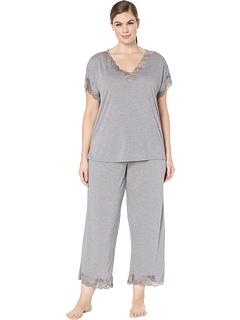Большой размер Zen Цветочный пижамный набор Natori