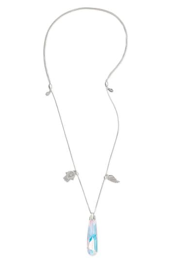 Guardian Trio Crystal Pendant Necklace Alex and Ani