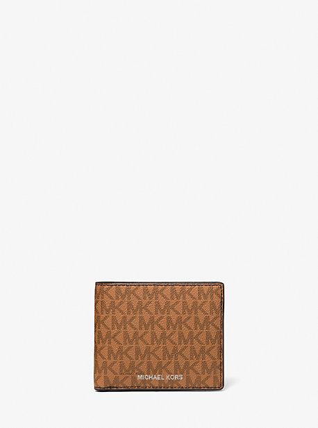 Бумажник-бумажник с логотипом Cooper и кошельком для монет Michael Kors