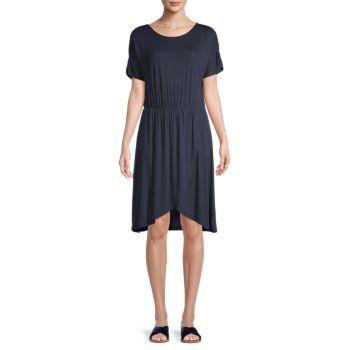 Платье из джерси с короткими рукавами Donna VERO MODA