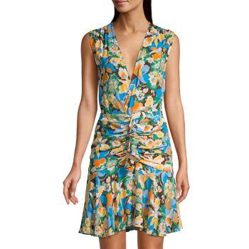 Floral Mini Dress M Missoni