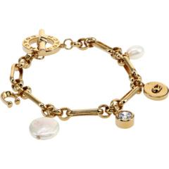 Pearl Charm Toggle Bracelet COACH