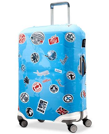 Обложка для багажа среднего размера Landmark Samsonite