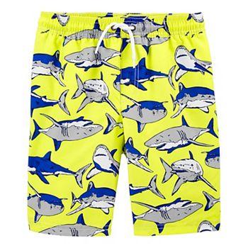 Boys 4-14 Carter's Shark Swim Trunks Carter's