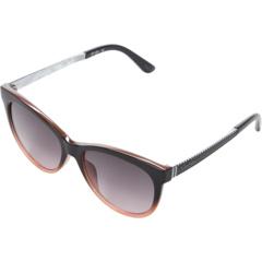 Солнцезащитные очки «кошачий глаз» с логотипом «омбре» с защитой от ультрафиолетового излучения и 54 мм шиком Jessica Simpson