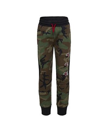 Флисовые брюки с камуфляжным принтом для мальчиков Jumpman Classics Jordan