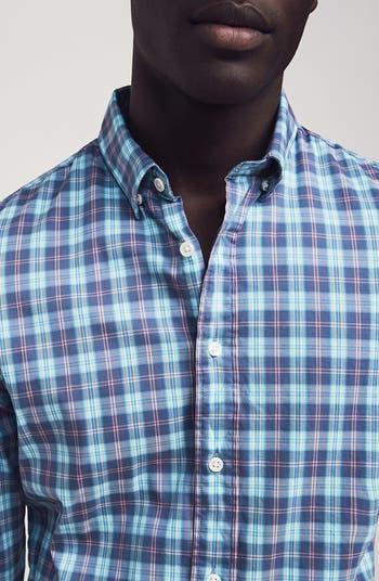 Рубашка обычного кроя в клетку Movement FAHERTY BRAND