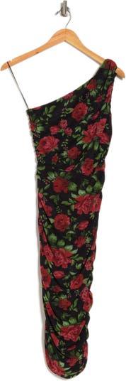 Платье миди на одно плечо со сборками Love by Design