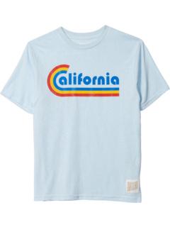 Футболка с короткими рукавами Vintage Tri-Blend California (для больших детей) The Original Retro Brand Kids