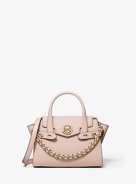 Очень маленькая сумка с поясом из сафьяновой кожи Carmen Michael Kors