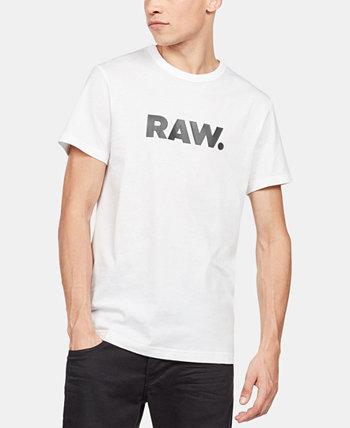 Мужская футболка с логотипом Holorn RAW G-Star
