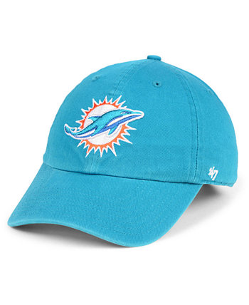 Кепка Miami Dolphins CLEAN UP '47 Brand