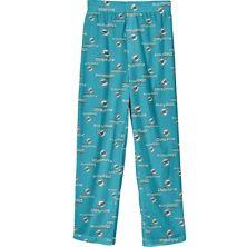 Пижамные штаны с цветным принтом Youth Aqua Miami Dolphins Team Outerstuff