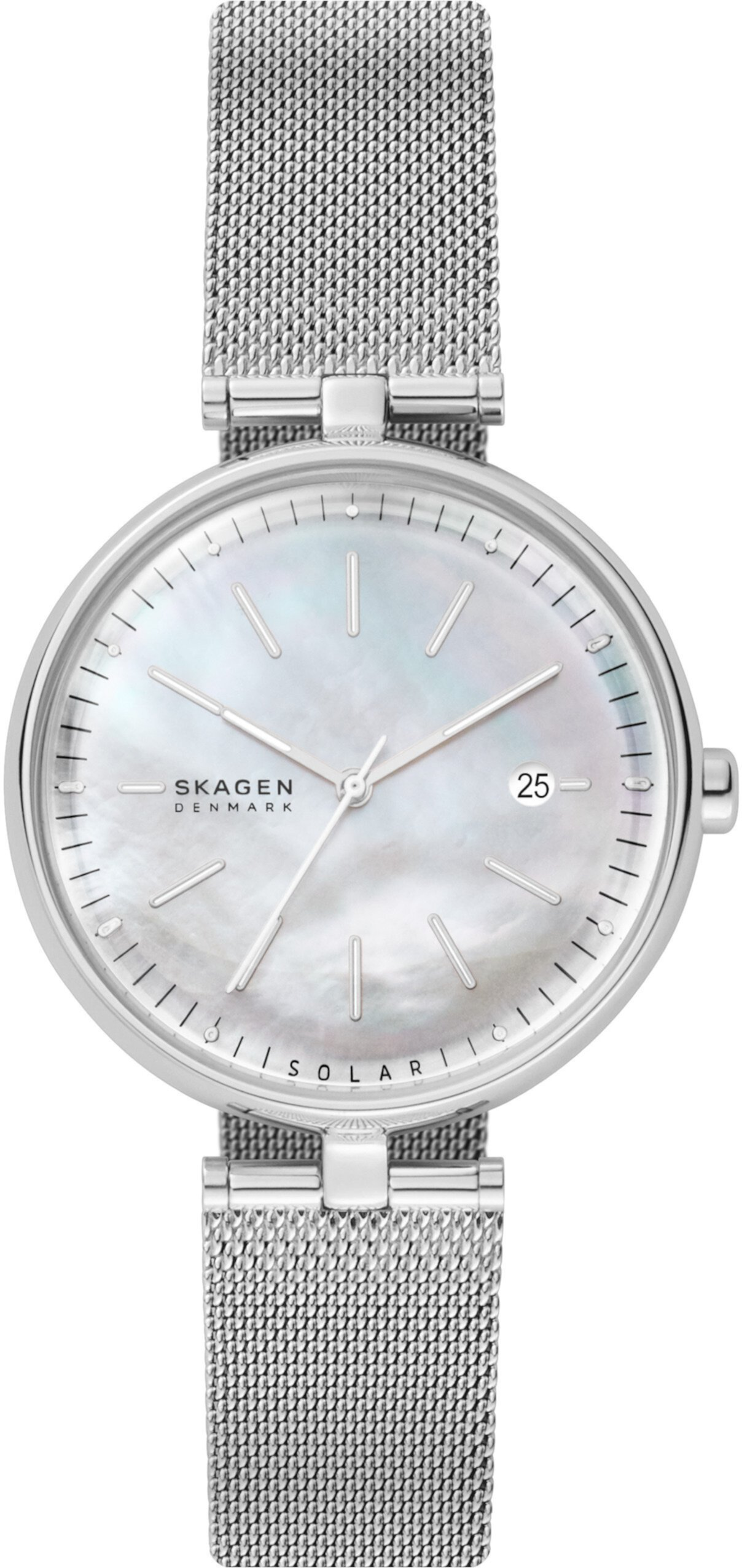Часы из нержавеющей стали с солнечной батареей 16 мм Skagen