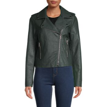 Куртка Ivanna из веганской кожи NOIZE