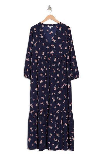 Домашнее платье с длинными рукавами и принтом BB Dakota