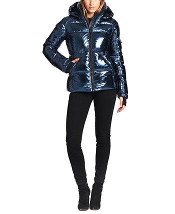 Пуховик Kylie Metallic с капюшоном S13