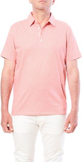 Рубашка поло с короткими рукавами и мини-принтом Tear Drop Toscano