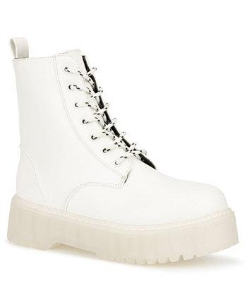 Женские ботинки Gina Lug Sole Combat Sole OLIVIA MILLER