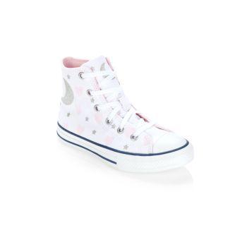 Маленькая девочка & amp; Высокие кеды Chuck Taylor All Star для девочек Converse