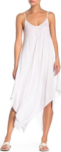 Платье-комбинация миди на тонких бретелях, прикрытие ELAN