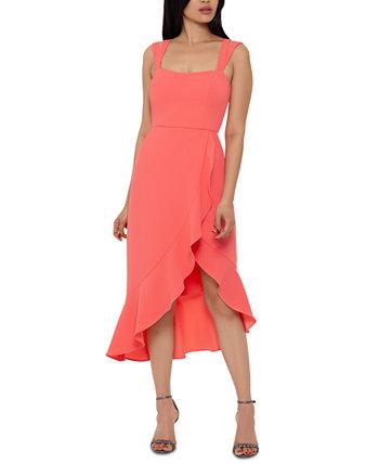 Платье миди с двумя ремешками XSCAPE