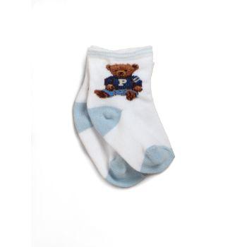 Носки Baby's Teddy Bear Crew Ralph Lauren