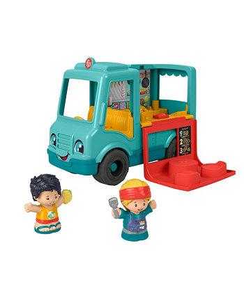 Фишер-Прайс Маленькие люди обслуживают грузовик с едой Fisher Price