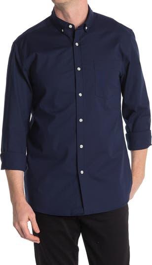 Однотонная оксфордская рубашка TOPMAN