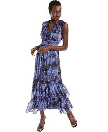 INC Petite Ruffled Maxi Dress, Created for Macy's INC International Concepts