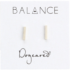 Серьги-гвоздики Balance Flat Bar Dogeared