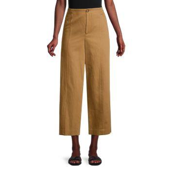 Универсальные брюки с высокой талией Vince