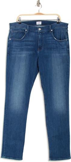 Узкие прямые джинсы Blake с прямыми штанинами Hudson