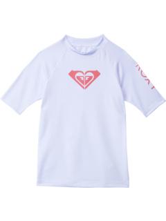 Рашгард с короткими рукавами Whole Hearted (для малышей / маленьких детей / старших детей) Roxy Kids