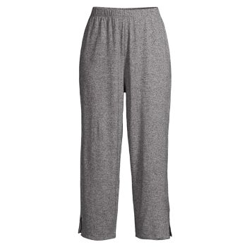 Straight Cropped Pants Eileen Fisher